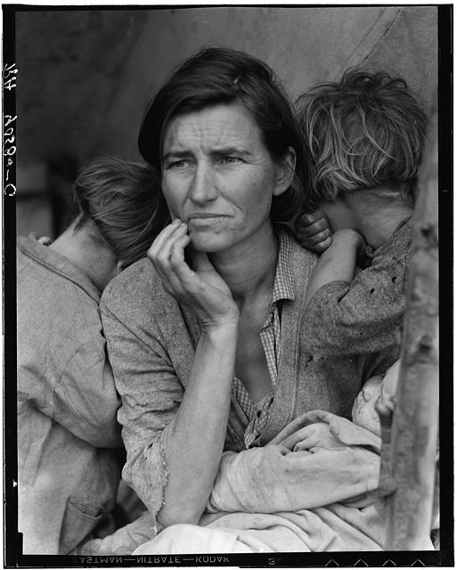 Migrant Mother - Dorothea Lange 1936