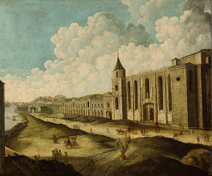 Mosteiro dos Jerónimos, Belém, anonimo, séc. XVIII