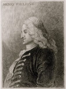 Henry Fielding por Jonathan Wild the Great, 1743