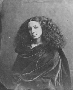 Jeanne Duval por Felix T. Nadar (c.1855)